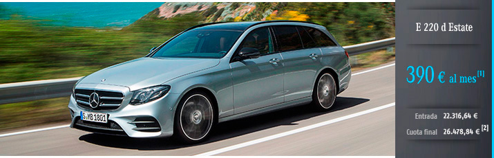 Oferta Mercedes Clase E Estate